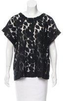 Elizabeth and James Oversize Lace Top
