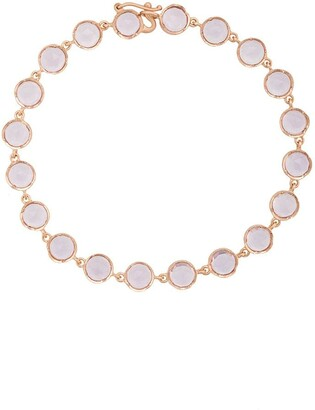 Irene Neuwirth 18kt rose gold and Rose de France bracelet