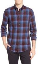 Ben Sherman Plaid Sport Shirt