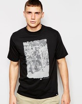 Dickies T-shirt With Doug Barber Photo Print - Black