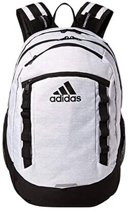 adidas Excel V Backpack (Jersey White/Black) Backpack Bags