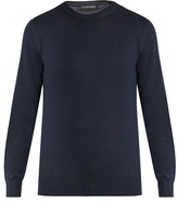 Alexander Mcqueen Shoulder-panel Crew-neck Sweater