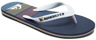 Quiksilver Molokai Art (White/Blue/Blue) Men's Sandals