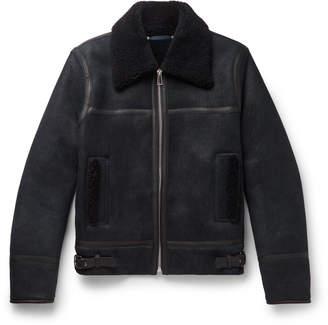 Paul Smith Shearling Bomber Jacket