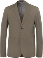 Jil Sander Green Slim-Fit Cotton Blazer