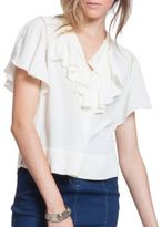 Plenty by Tracy Reese Solid Open-Knit Top