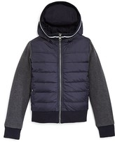 Moncler Boys' Sweatshirt Combo Jacket - Sizes 4-14