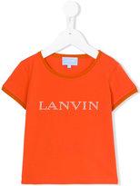 Lanvin Petite - pearl logo T-shirt - kids - Cotton/Spandex/Elastane - 2 yrs