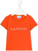 Lanvin Petite - pearl logo T-shirt - kids - Cotton/Spandex/Elastane - 4 yrs