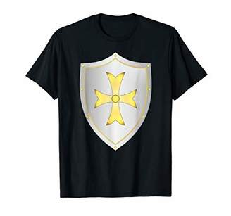 Medieval Knight of Europe Christendom Shield T-Shirt