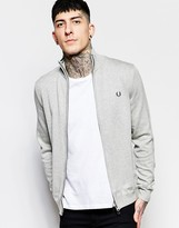 Fred Perry Cardigan With Zip Up
