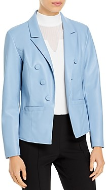 T Tahari Faux Leather Jacket