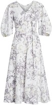 3.1 Phillip Lim Abstract Daisy Poplin Dress