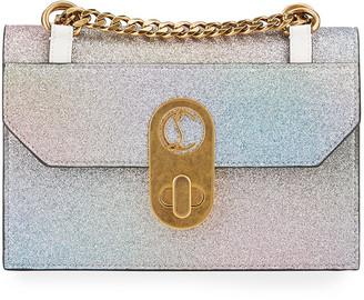 Christian Louboutin Elisa Mini Glitter Shoulder Bag