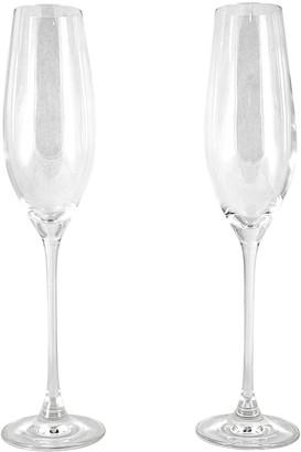 Cellar Premium 2 Piece Champagne Flute Set 210ml