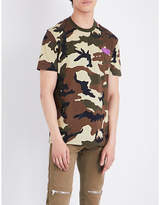 Givenchy Camouflage Cotton T-shirt