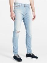 Calvin Klein Jeans Skinny Tapered Splatter Paint Jeans