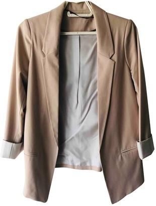 Topshop Tophop Beige Jacket for Women