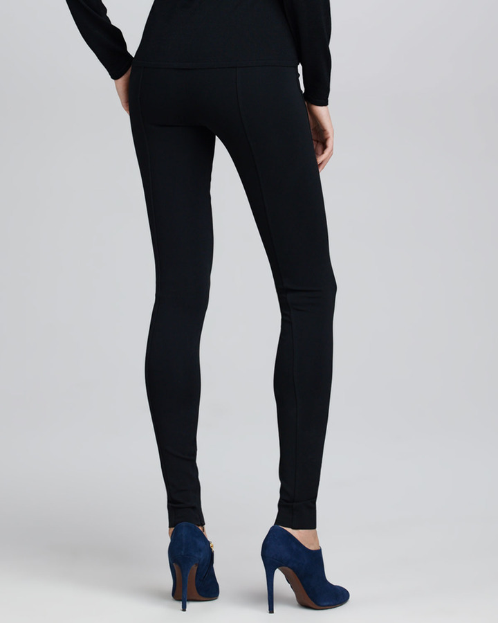 Ralph Lauren Heavy Jersey Leggings, Black
