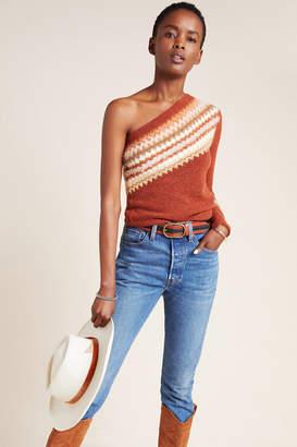 Anthropologie Vittoria One-Shoulder Sweater