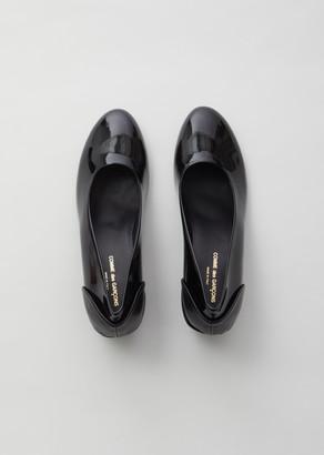 Comme des Garcons Patent Leather Heel
