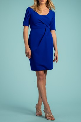 Trina Turk Suave Elbow Sleeve Dress