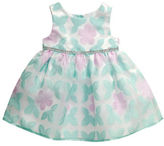 Sweet Heart Rose Sweetheart Rose Baby Girls Floral & Butterfly Embroidered Dress