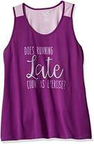 Fruit of the Loom Women's Plus Size Double Back Tank