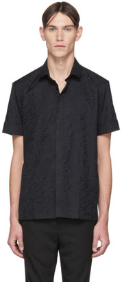 Neil Barrett Black Graffiti Shirt