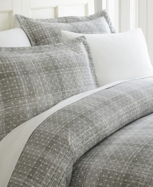 IENJOY HOME Elegant Designs Patterned Duvet Cover Set by The Home Collection, King/Cal King Bedding