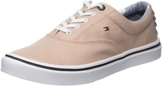 Tommy Hilfiger Women's Textile Light Weight Sneaker Low-Top