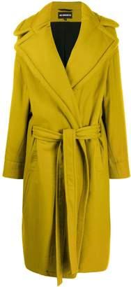 Ann Demeulemeester padded single breasted coat