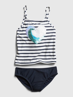 Gap Kids Flippy Sequin Swim Two-Piece