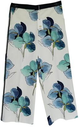 Tory Burch Multicolour Cotton Trousers for Women