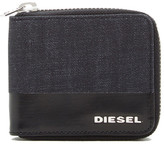Diesel Blockin& 2 Denim Zippy Wallet