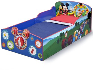 Disney Disney's Mickey Mouse Interactive Wood Toddler Bed by Delta Children