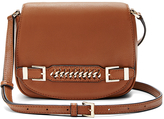 Diane von Furstenberg Iggy Leather Saddle Bag