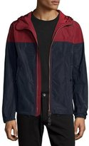 Burberry Colorblock Technical Jacket w/Hood