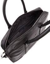 HUGO BOSS Morval Leather Briefcase, Black