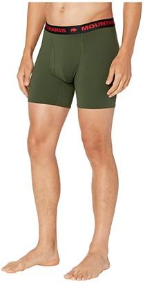 Mountain Khakis Bison Boxer Brief (Black) Men's Underwear