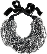 Yves Saint Laurent Glass pearl necklace