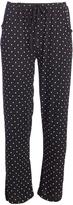 Black Polka Dot The Weekender Pajama Pants