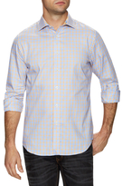 James Tattersall Checkered Dress Shirt