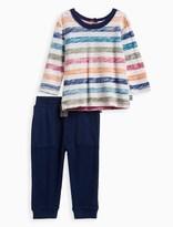 Splendid Baby Boy Striped Long Sleeve Top Set