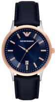 Emporio Armani Renato Blue Watch