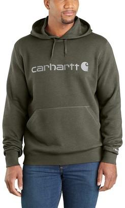 Carhartt Force Delmont Signature Graphic Hooded Sweatshirt - Men's