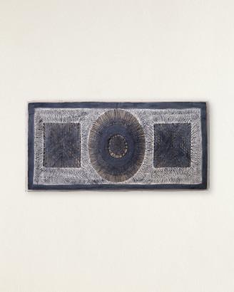 Jamie Young Batik Rectangle Framed Wall Art