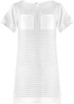 Osman Textured waffle cotton dress