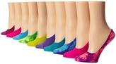 Steve Madden 10 Pack Mesh Tie Dye Footie