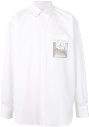 Doublet Chest Pocket Long-Sleeved Shirt
